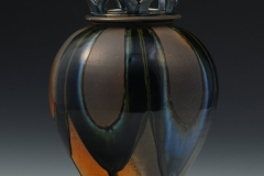 "Functional - Baumgartner, Nolan - ""First Lidded Jar, View 1"" - SOLD"