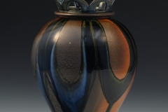 "Functional - Baumgartner, Nolan - ""First Lidded Jar, View 2"" - SOLD"