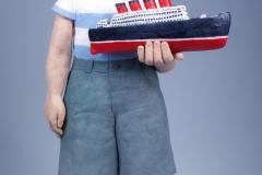 "Sculptural - Chalmers, Pattie - ""Prairie Sailor - Full View"""