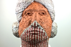 "Sculptural - Halfmoon, Raven - ""Front View"""