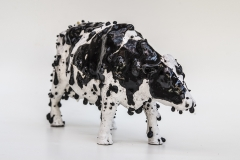 "Sculptural - Kayser, Elliott - ""Holstein (alternate view)"" - SOLD"