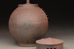 "Vessel - Heywood, Stephen - ""Double Lidded Jar - Alternate View"" - Honorable Mention - Vessel - SOLD"